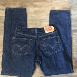 High waisted Levi's 501 Jeans